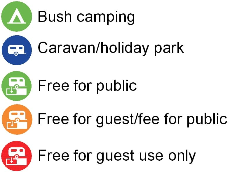 Camping Icons Bright & Surrounds